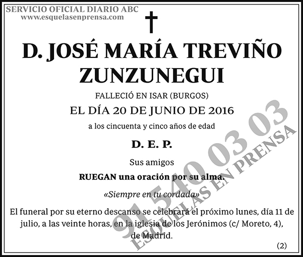 José María Treviño Zunzunegui